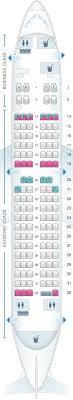 Seat Map Boeing 737 700 73h Fiji Airways Find The Best