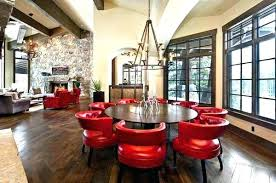 red leather dining chairs delightful wonderful dark red din chair chairs red din room chairs view red leather dining chairs
