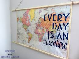 thanks so much for checking out my diy travel e map art project today if you enjoyed this post you might also like to check out the full vintage