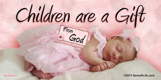 Children are a Gift from God Billboard Children are a Gift from