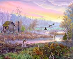 village scenery wall painting poster hd wallpapers rocks