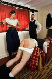 Gay spanking blog stairwell spanking scene