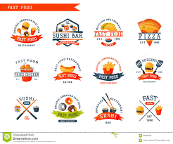 american food brand logos. Perfect Food Download Colorful Cartoon Fast Food Label Logo Isolated Restaurant Tasty  American Cheeseburger Badge Mea Meal Vector For Brand Logos O