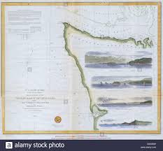 Northwestern Chart 1853 U S C S Map Or Chart Of Northwestern Washington State
