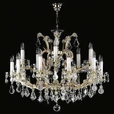 crystal trimmed chandelier new maria lighting theresa chandeliers maria crystal chandelier theresa 6 light