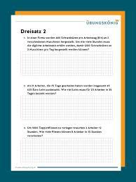20 lrs übungen zum ausdrucken | arbeitsblätter zum. Dreisatz