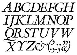 alphabet letter letters type font rough black