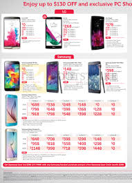 samsung galaxy s6 edge price list. pc show 2015 price list image brochure of singtel mobile lg g3 lte, g4,. «tablets samsung galaxy s6 edge a