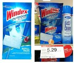 windex outdoor window cleaner better than free outdoor glass cleaning pads at target