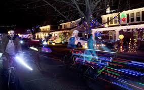 Christmas Lights Roanoke Va 2018 Bikers Ride In Grandin Villages Holiday Lights Tour