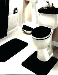 black bathroom rug set rugs sets fashionable and bath mats carpets style model carpet mat for bathroom mats