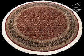 12x12 tabriz design round rug
