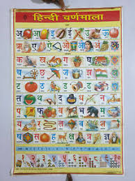 Flower Chart In English Details About 9pc X Vintage Charts Hindi English Fruits Flowers Leaders Ramayana 20in X 30in