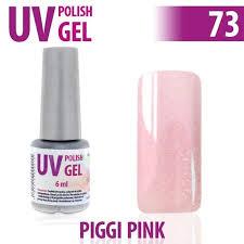 73uv Gel Lak Na Nehty Hybridní Piggi Pink 6 Ml A