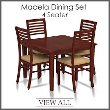 4 seater dining set four seater dining table and chairs por of dining table sets