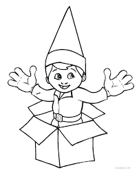 the elf on the shelf coloring pages free printable elf coloring pages elf on the shelf