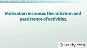 the importance of motivation in an educational environment video the importance of motivation in an educational environment video lesson transcript com