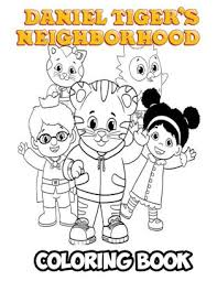 Here is a beautiful collection of tiger coloring sheets in their realistic and humorous form. Daniel Tiger S Neighborhood Coloring Book Coloring Book For Kids And Adults Activity Book With Fun Easy And Relaxing Coloring Pages By Alexa Ivazewa Paperback Barnes Noble