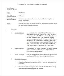 informative speech essay examples how to write an expository  informal essay outline informative essay outline atsl ip informal lives sample of a persuasive essay sample