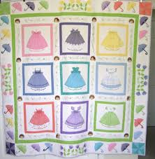 229 best doll dress quilts images on Pinterest | Appliques ... & Kreations by Karon Doll dress quilt Adamdwight.com