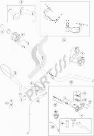 Handlebar controls ktm 690 smc r abs 2016 eu