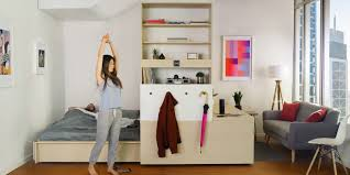 multifunctional furniture. Yves Béhar\u0027s Shapeshifting Ori Furniture Transforms Your Home At The Touch Of A Button Multifunctional L