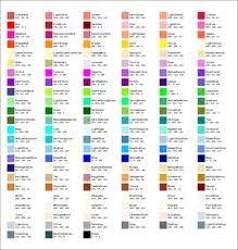 Uplighting Color Chart Pin By Mila P On Design Resources Colour Names Color
