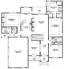 4 bedroom 3 bath exquisite on bedroom for bath house plans 5