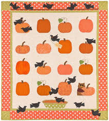 192 best pumpkin quilts images on Pinterest | Quilt patterns ... & Pumpkin Pie quilt pattern from Bunny Hill Adamdwight.com