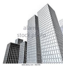 architectural drawings of skyscrapers. Architecture Drawing Of Large Skyscrapers Downtown - Stock Image Architectural Drawings