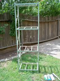 garden rack. Metal Shelving To Garden Rack, Flowers, Repurposing Upcycling, Rack Needing A New 7