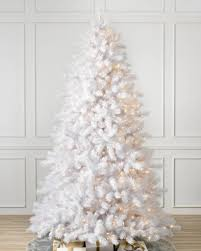 Classic White Christmas Tree-1