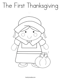 Try this mayflower coloring page to teach your kids about the pilgrim settlers. The First Thanksgiving Coloring Page Twisty Noodle