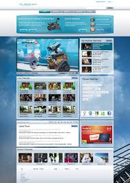 website template video video web template by venkat7668 on deviantart