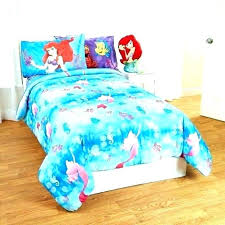 bed set bedroom the little mermaid bedding medium size ariel disney sets toddler