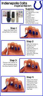 25+ beautiful Colts nails ideas on Pinterest | Country nails ...