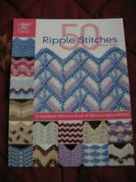 50 Ripple Stitches by Darla Sims Crochet for Ripple patterns for afghans &  etc. | eBay
