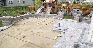 Patio Pavers Over Concrete Paver Installation Site Concretenetworkcom For Modern Design
