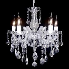 zurich chrome candle chandelier 5 light