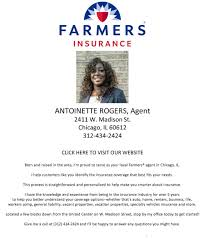 s agents farmers com il chicago antoinette farmers insurance