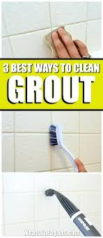 how to clean grout with vinegar and baking soda best way how to clean grout in