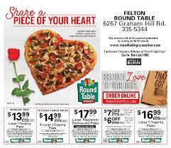 round table pizza bayfair mall elcho