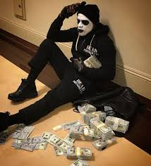 dead presidents face makeup floyd mayweather is a character from dead presidents 1995