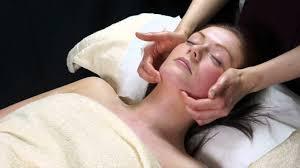 Video of facial massage
