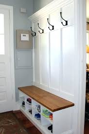 Mudroom Bench With Coat Rack Mudroom Bench Cushion Ideas Entryway And Coat Rack Found This 11