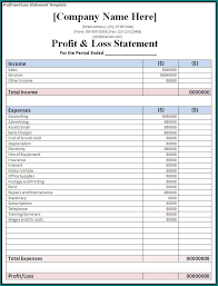 Year To Date Profit And Loss Statement Template Free Customizable Year To Date Profit And Loss Statement