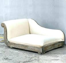 dog chaise lounge bed off white antique style dog chaise bed plush dog chaise lounge bed off white antique style dog chaise bed plush wood pet sofa lounge