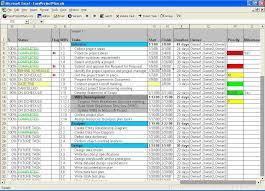 Outlook Tasks Gantt Chart Easyprojectplan Excel Gantt Chart Template Planner