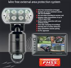 Flood Light Security Camera Wireless Gorgeous GCAMWFM ESP GuardCam Wireless Security LED Floodlight CCTV Camera