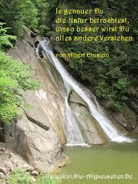 949 Je Genauer Du Die Natur Betrachtest Gedanken Sprüche Und Zitate